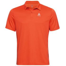 Odlo Cardada Polo Shirt S/S Men, mandarin red